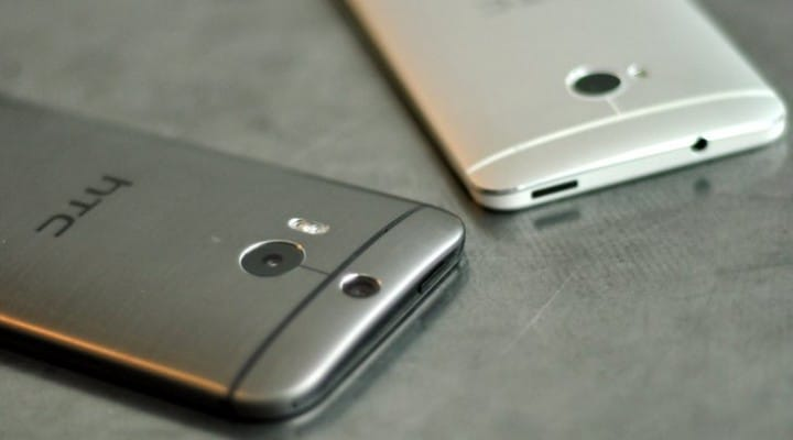 HTC One M7 Lollipop update release time on AT&T
