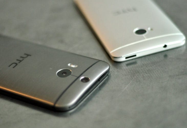 HTC One M8, M7 update