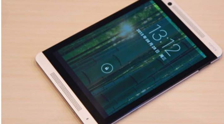 HTC One M9 inspired tablet sees powerful specs upgrade