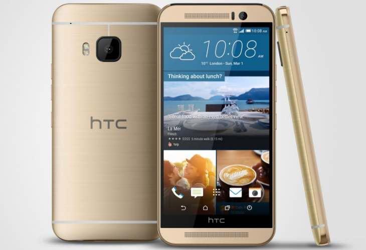 HTC One M9 showcase