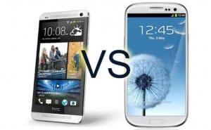 HTC One juice vs. Samsung Galaxy S4