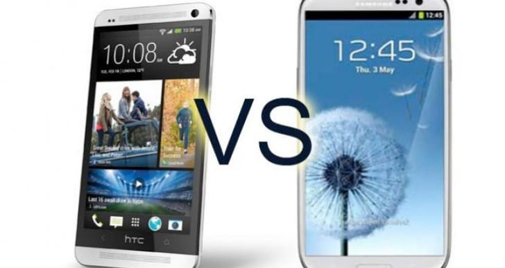 HTC One juice vs. Samsung Galaxy S4
