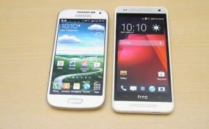 HTC One mini vs. Samsung Galaxy S4 mini