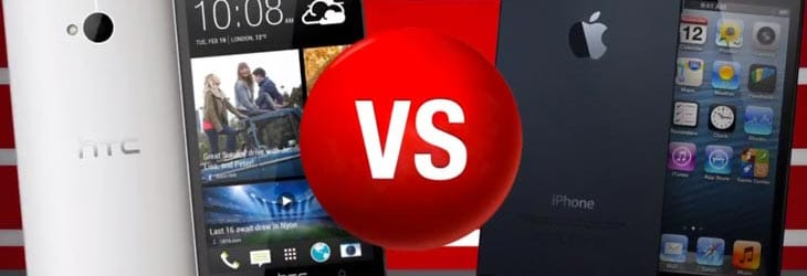 HTC-One-vs-iphone5
