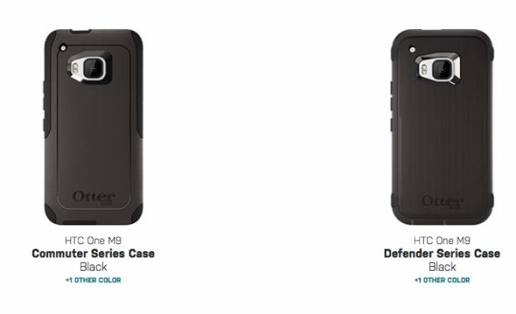 HTC Otterbox cases