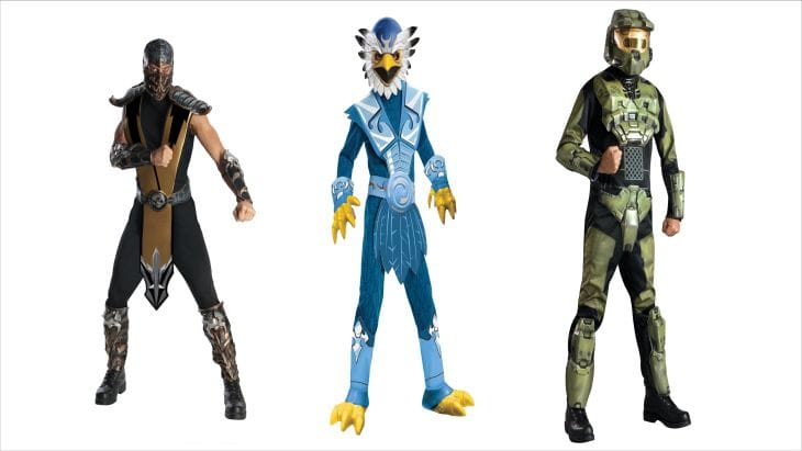 Halloween Costumes for video game characters 2