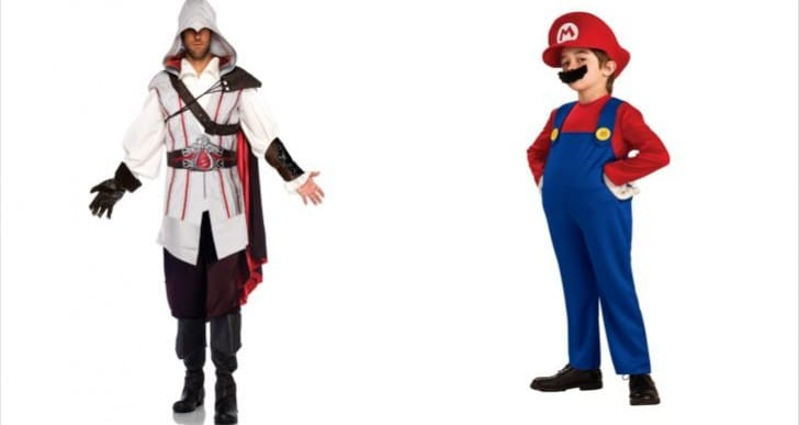 Halloween Costumes for video game characters