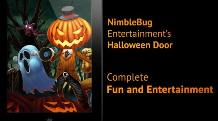 Halloween Door app for iPad will express excitement 2