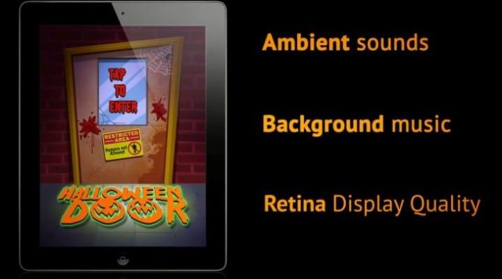 Halloween Door app for iPad will express excitement