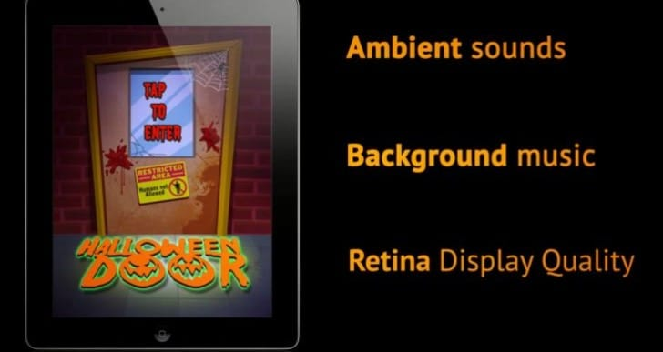Halloween Door app for iPad will express excitement