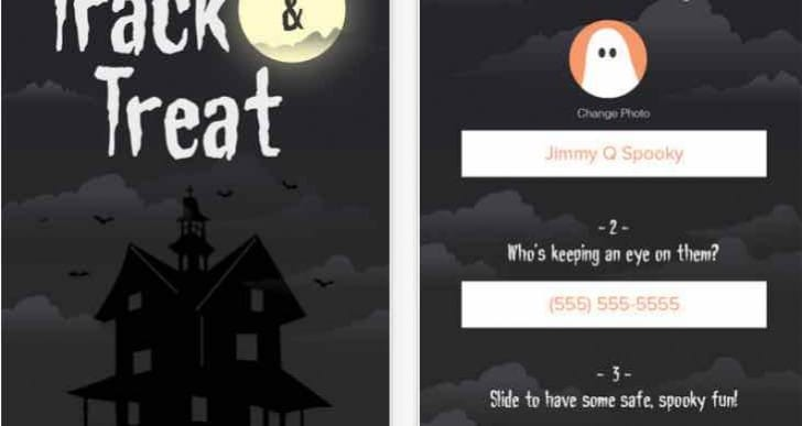 Halloween Trick or Treat tracker app for your kids