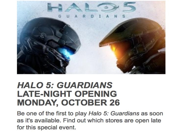 Halo-5-midnight-launch-gamestop