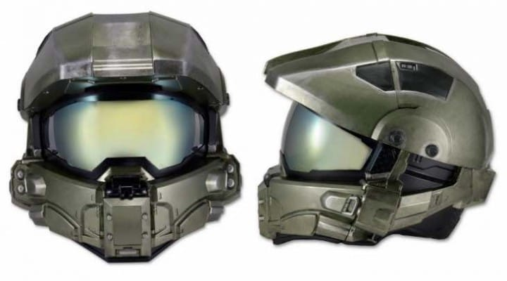 Halo Master Chief motorcycle helmet release looms, price eludes