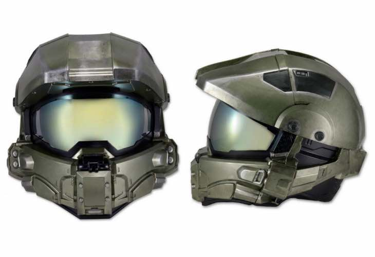 Halo Master Chief motorcycle helmet release looms
