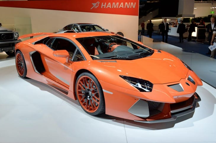 The Hamann Nervudo is a modified Lamborghini Aventador
