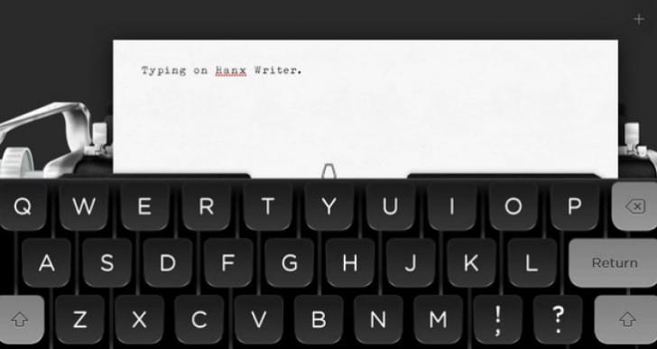Hanx Writer keyboard app not on Android