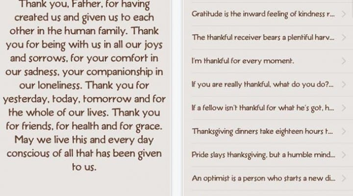 2014 Thanksgiving thank you messages made easy