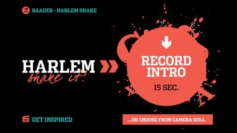 Harlem Shake It iOS app