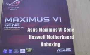 Haswell Motherboard by Asus: Maximus VI Gene hands-on