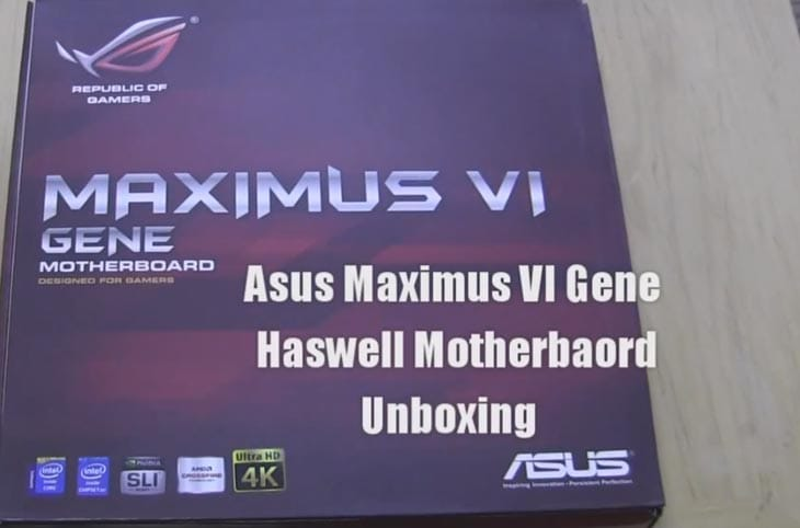 Haswell-Motherboard-by-Asus-Maximus-VI-Gene
