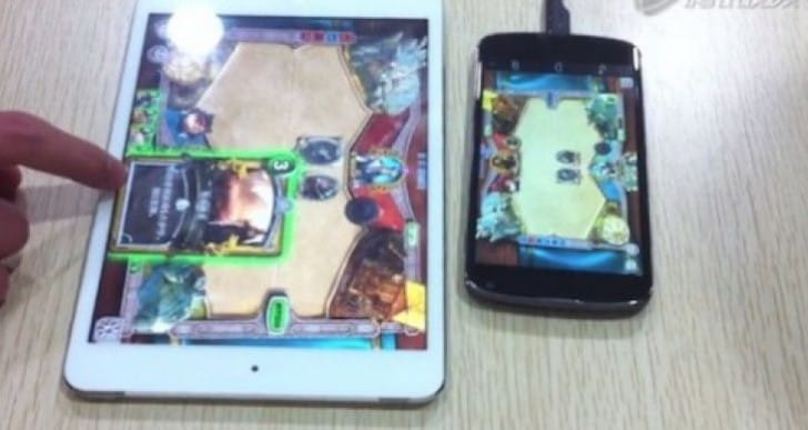 Hearthstone already released, well a Chinese clone