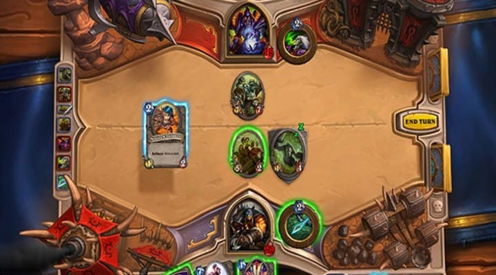 Hearthstone for iPad apparently ideal for a treadmill