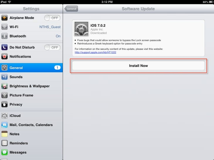 There are several hidden iOS 7 features in the iPad settings