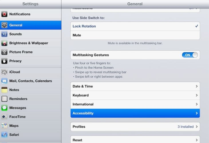 Hidden iOS 8 features on iPad