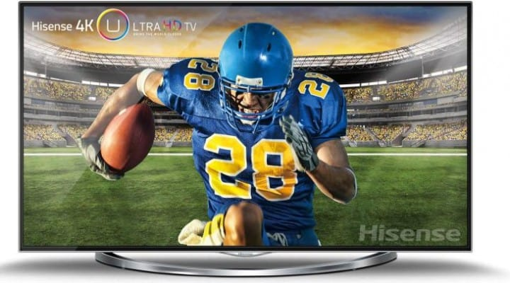 Hisense's amazingly affordable 55″ XT880 Ultra High Definition 4K TV