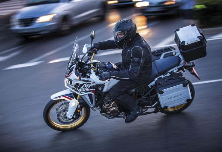 Honda CRF1000L Africa Twin UK options