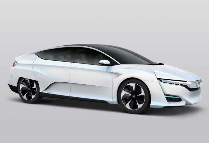 Honda FCV at Detroit Auto Show