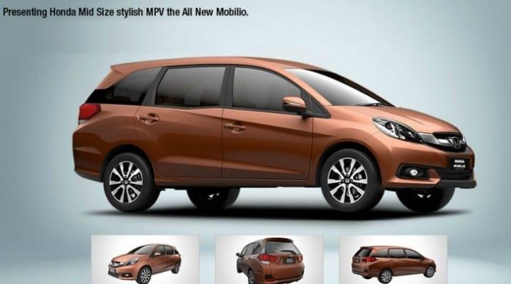 Honda Mobilio price in India at launch