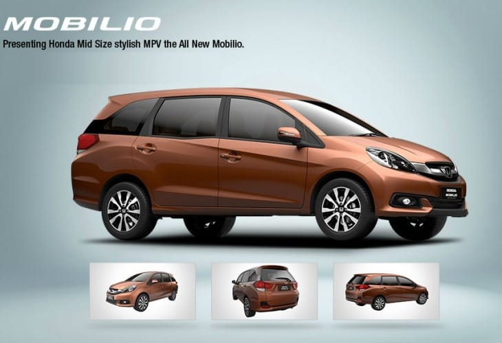 Honda Mobilio price in India at launch