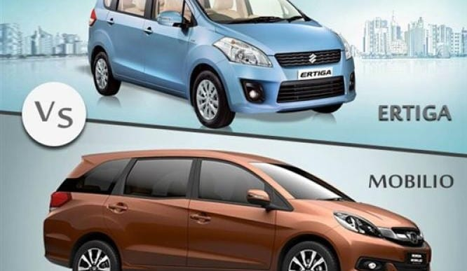 Honda Mobilio vs. Maruti Ertiga MPV dominance in India