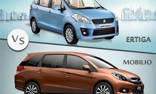 Honda Mobilio vs. Maruti Ertiga MPV dominance in India