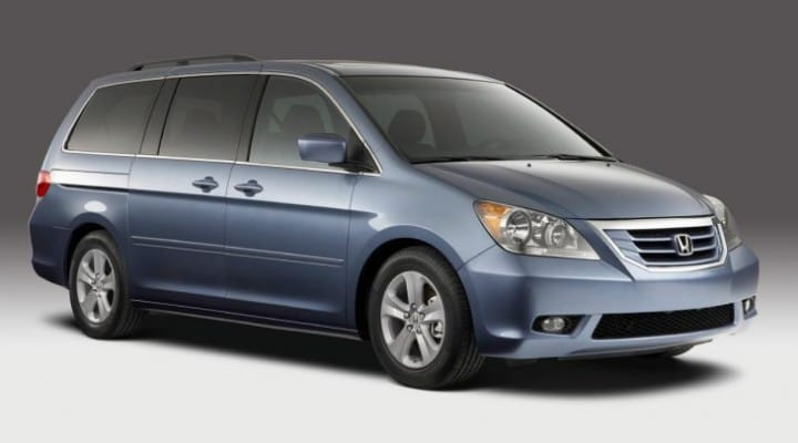 Honda Odyssey recall prompts VIN check