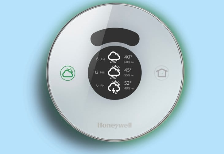 Honeywell Lyric thermostat vs. Nest design and features