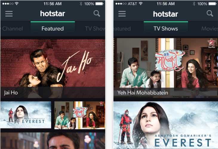 Hotstar app update fixes bugs