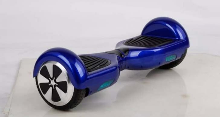 Hoverboards impounded over risk of exploding