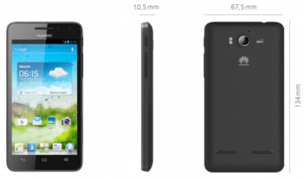 Huawei Ascend G615 is no D2, Jelly Bean update to follow