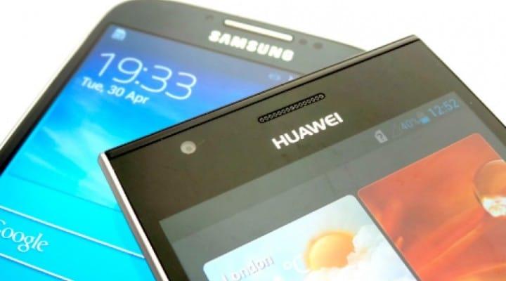 Huawei Ascend P2 vs. Galaxy S4