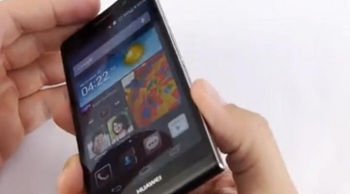 Huawei Ascend P6 review with video playback