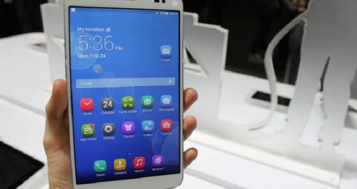 MWC 2014: Huawei MediaPad X1 phablet unveiled