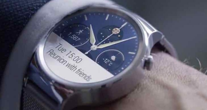 Huawei Watch release date looms