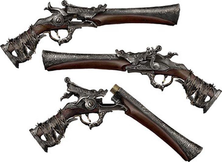 Hunter-Pistol-Bloodborne-ps4