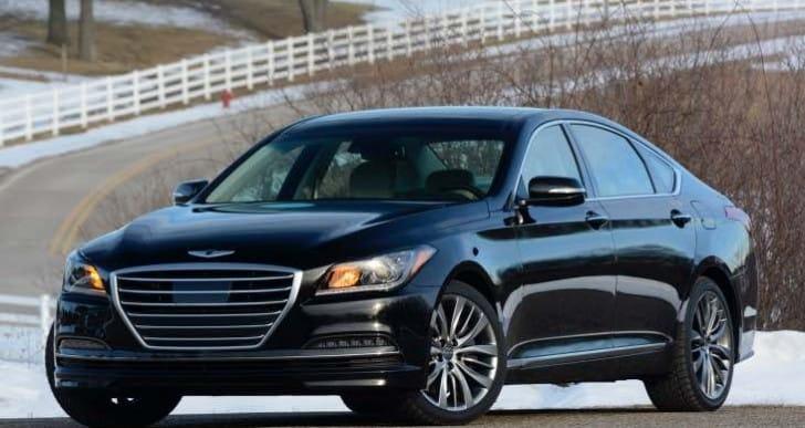 Narrowing Hyundai Genesis launch date in India