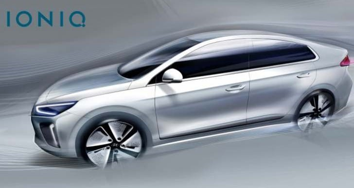 Hyundai IONIQ render teases design and aerodynamic performance