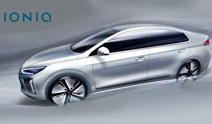 Hyundai IONIQ aerodynamic performance