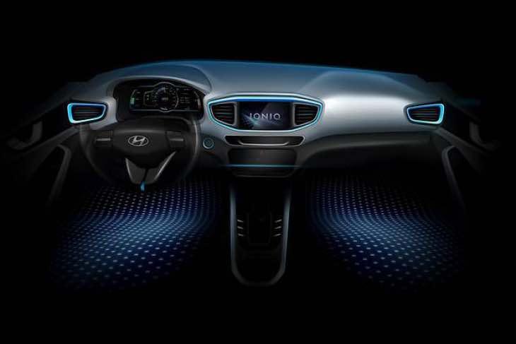 Hyundai Ioniq interior design