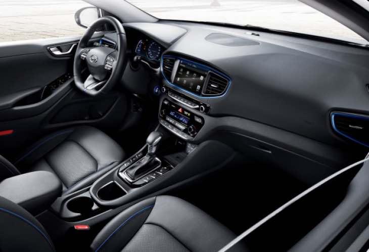 Hyundai Ioniq interior revealed